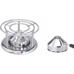 Brûleur à gaz inox professionnel 118 mm : exemple d'utilisation