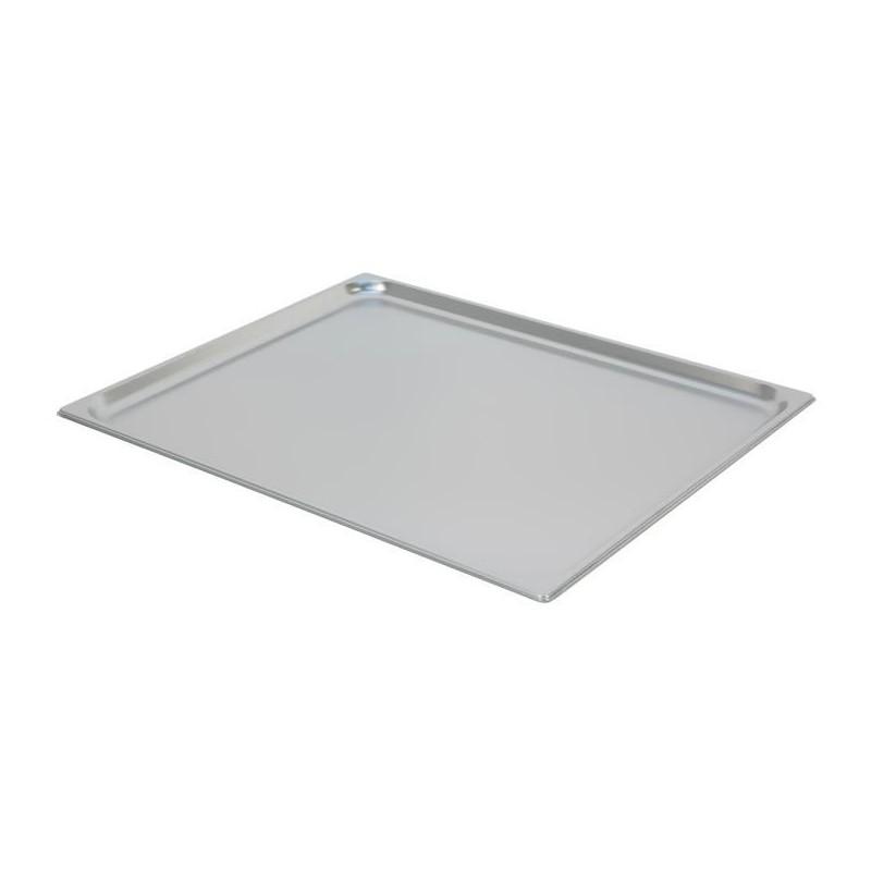 Bac inox GN 2/1 standard profondeur 20 mm