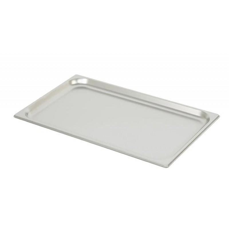 Bac inox GN 1/1 standard plein RONDA hauteur 20 mm