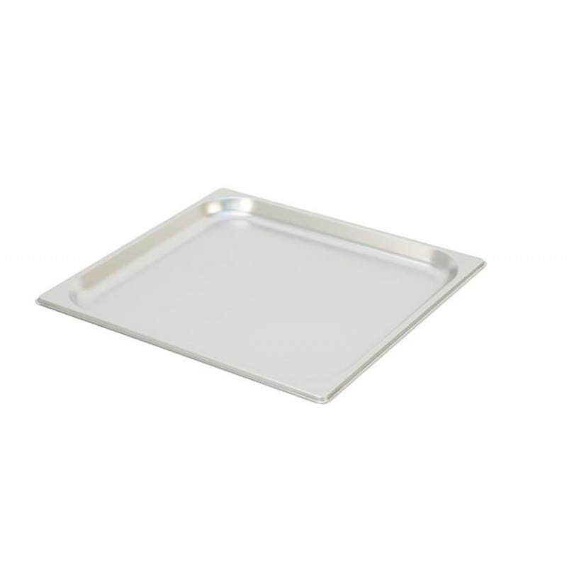 Bac inox GN 2/3 standard plein RONDA HAUTEUR 20 MM