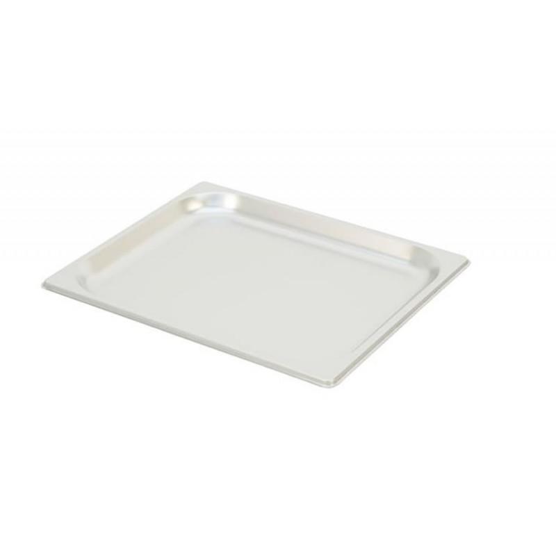 Bac inox GN 1/2 standard plein RONDA hauteur 20 mm