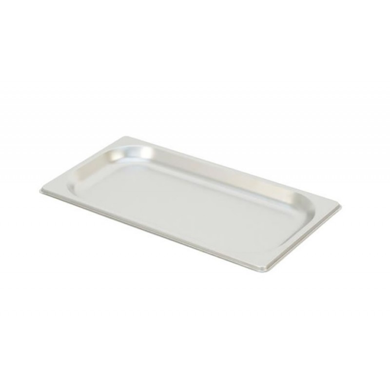 Bac inox GN 1/3 standard plein RONDA hauteur 20 mm