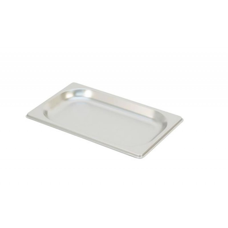 Bac inox GN 1/4 standard plein RONDA HAUTEUR 20 MM