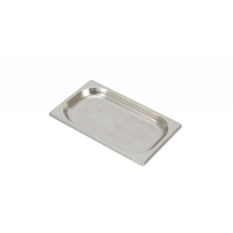 Bac inox GN 1/4 perforé RONDA profondeur 20 mm