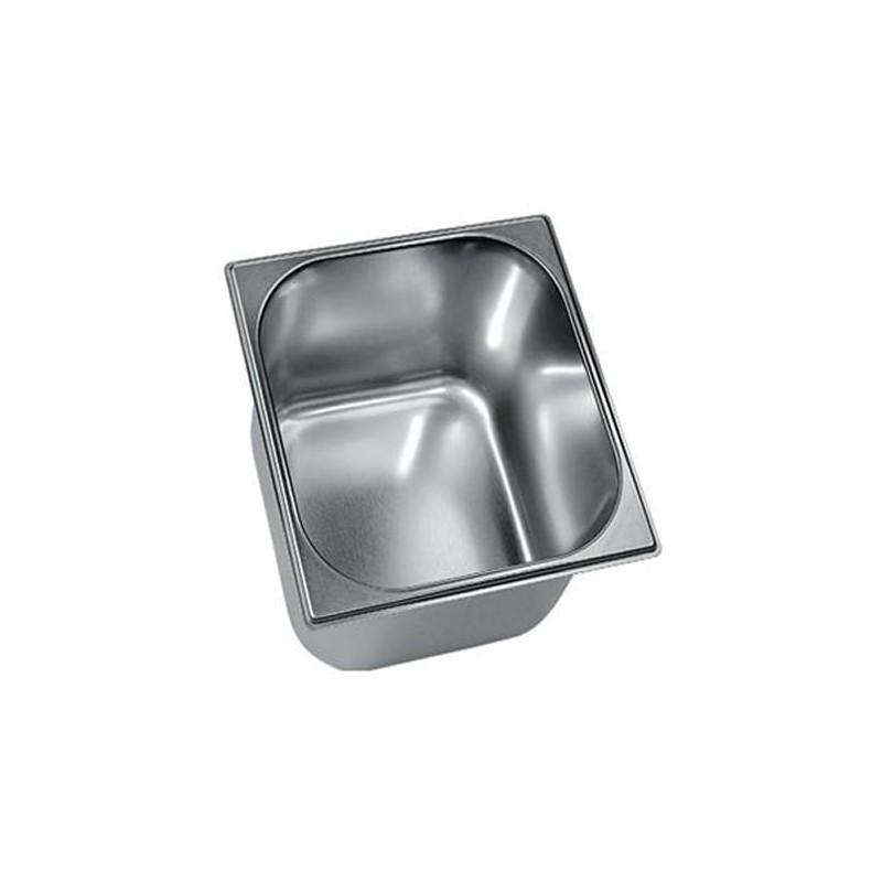 Bac à glace inox 210 x 200 mm hauteur 120 mm