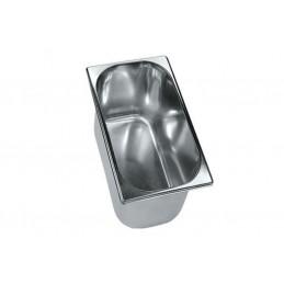 Bac à glace inox 258 x 156 mm
