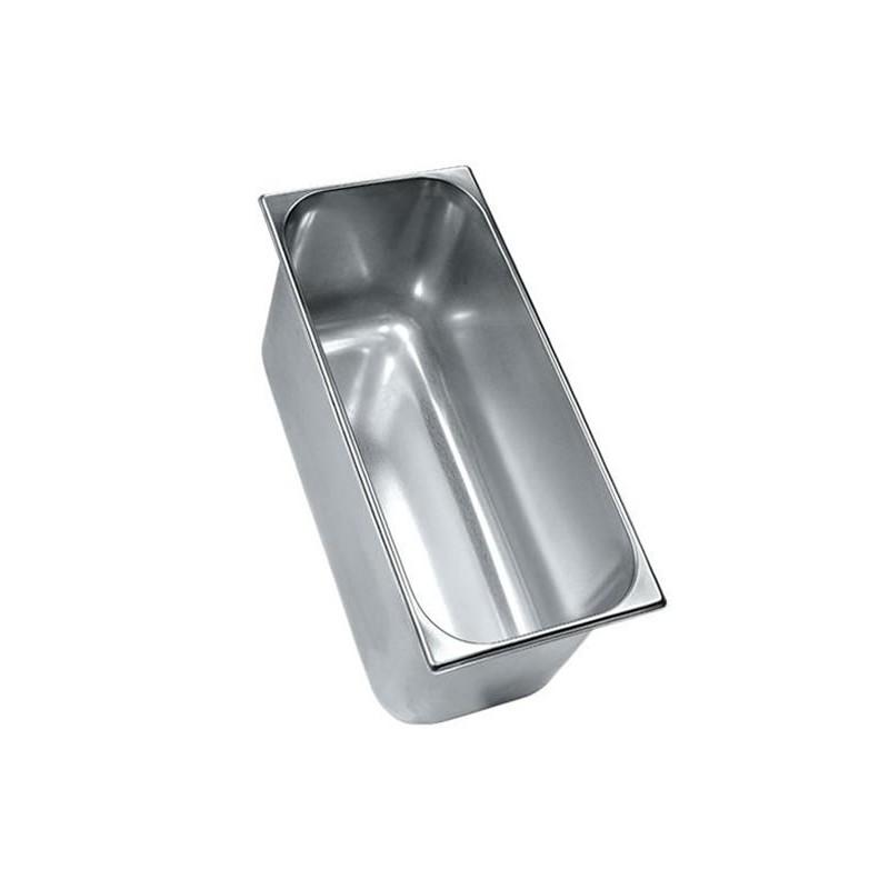 Bac à glace inox 420 x 200 mm