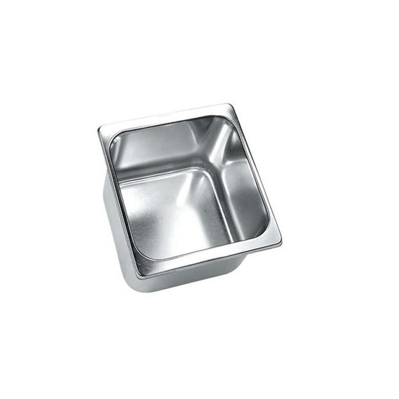 Bac à glace inox 180 x 165 mm