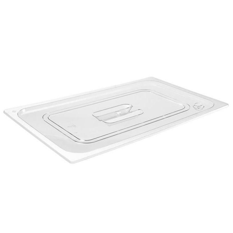 Couvercle GN2/1 transparent pour bacs plastique
