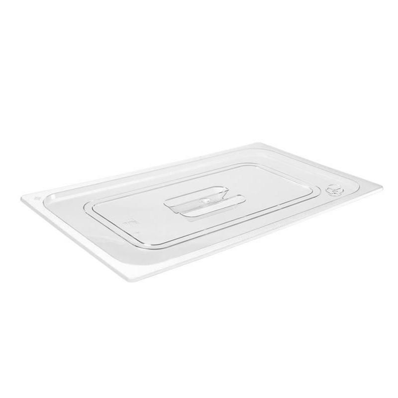 Couvercle GN1/1 transparent pour bacs plastique
