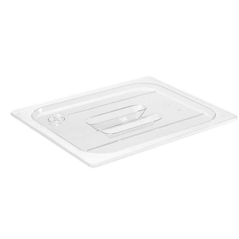 Couvercle GN1/2 transparent pour bacs plastique