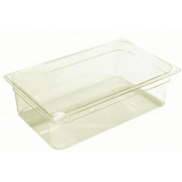 Bac plastique GN1/1 gastronorme fond semi-transparent