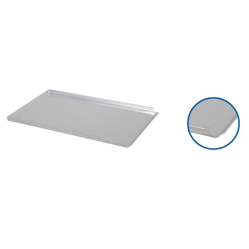 Plaque de four 600 x 400 x 20 mm 3 BORDS aluminium