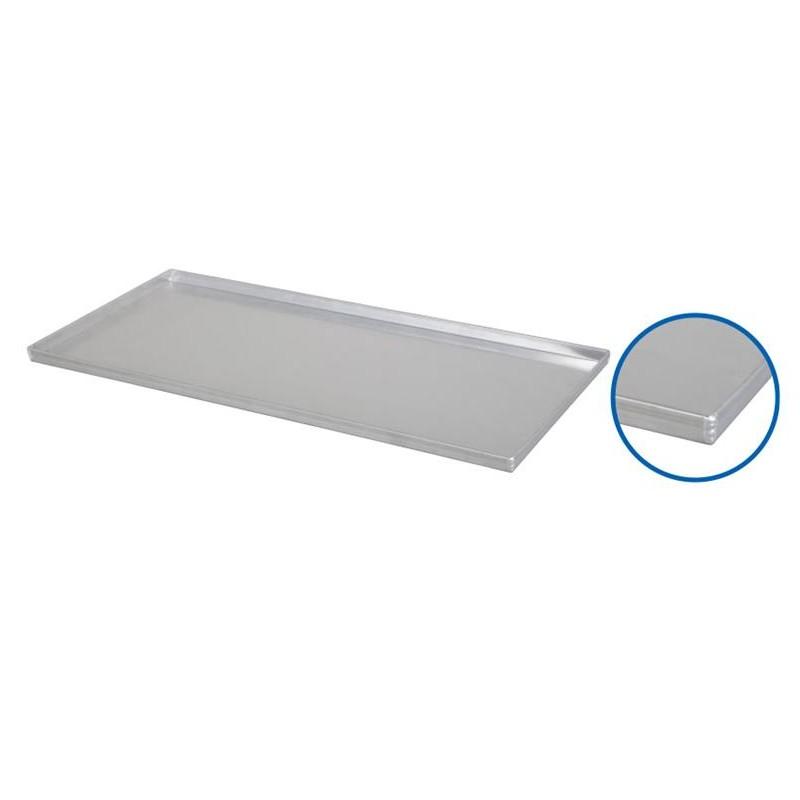 Plaque de four 800 x 400 x 23 mm 4 bords à 90 degrès