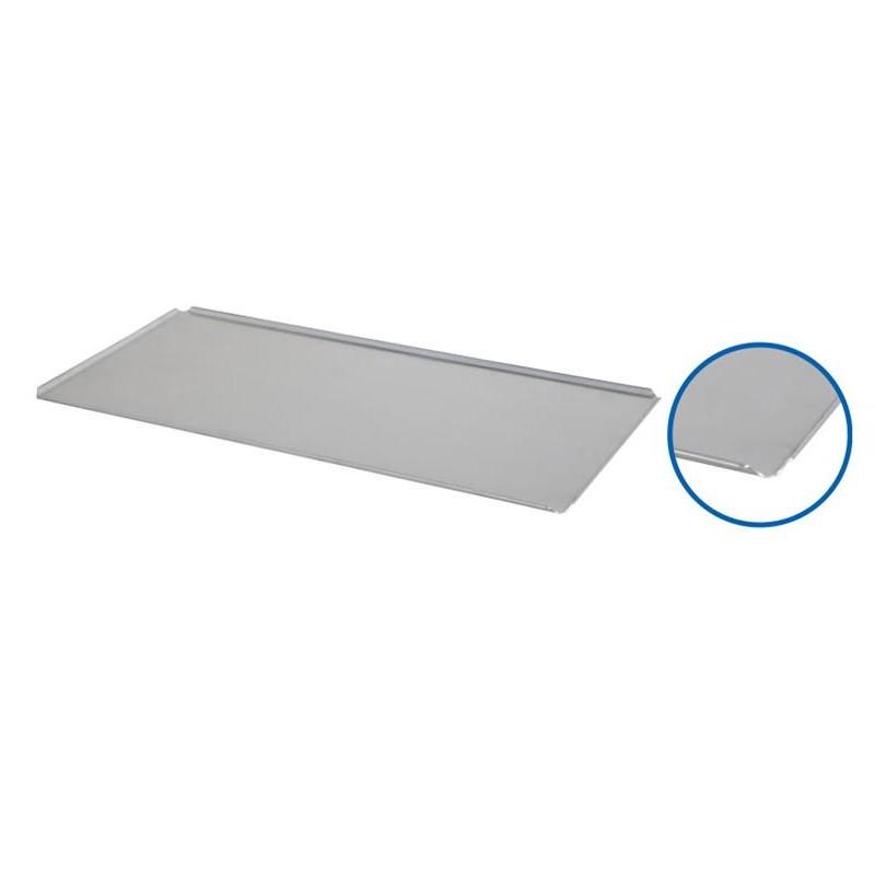 Plaque de four 800 x 400 x 10 mm 4 coins ouverts à 45 degrès