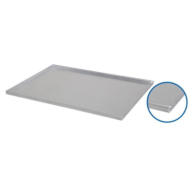 Plaque de four 800 x 600 x 23 mm 4 bords à 90 degrès
