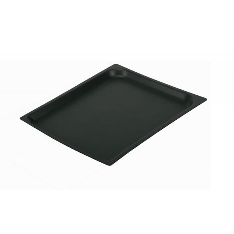 Bac aluminium GN1/2 avec couche de Teflon hauteur 20 mm