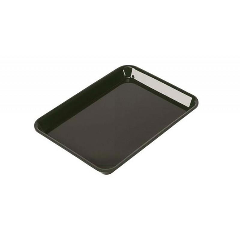 Plat rectangulaire plexi 265 x 200 x 17 mm normé GN2/7 couleur noir
