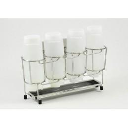 Organisateur pour 4 bouteilles souples 355 ml