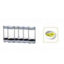 Bouteilles de réserves 709 ml avec membrane medium 3 trous