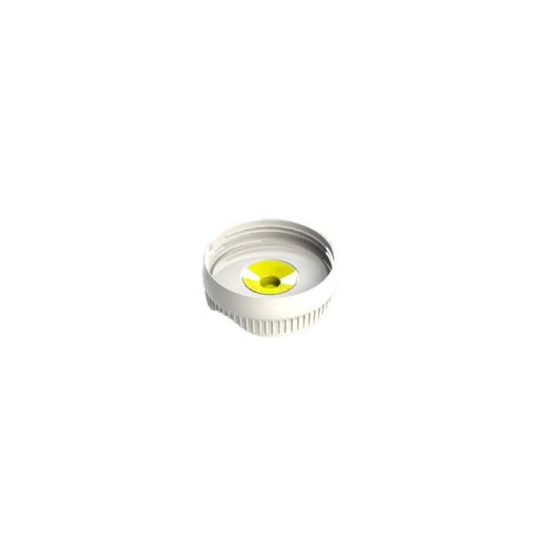 Membrane médium jaune pour bouteille sauce Portion Pal de Fifo 1 trou