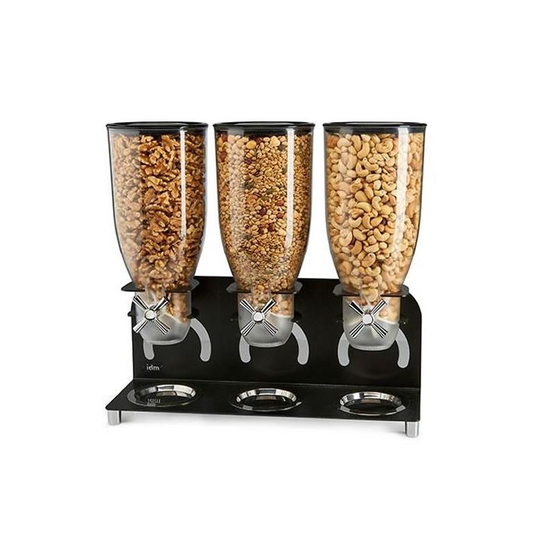 Distributeurs de céréales 3 fois 3.5 litres autonome