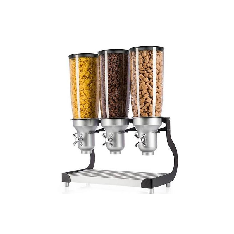 Distributeurs de céréales 3 fois 5 litres autonome