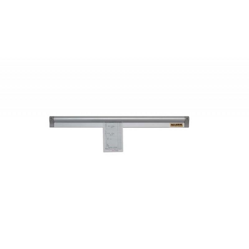 Porte fiches en aluminium anodisé pour cuisine de restaurant 305 mm