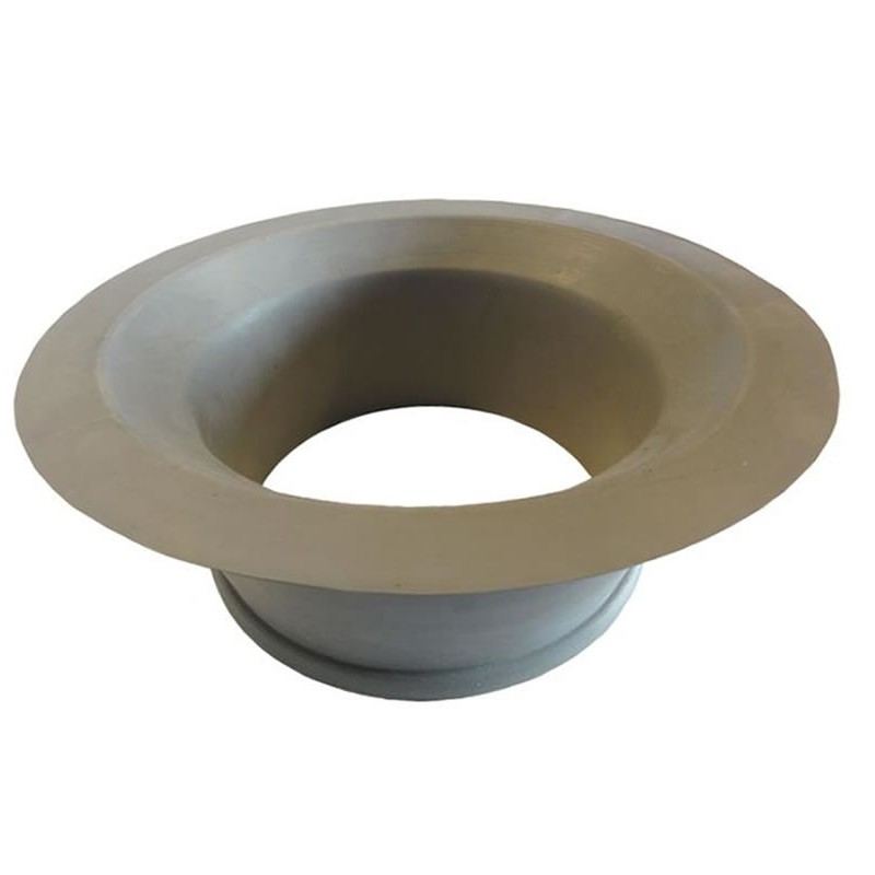Joint vide-ordures en caoutchouc gris diamètre 201 mm