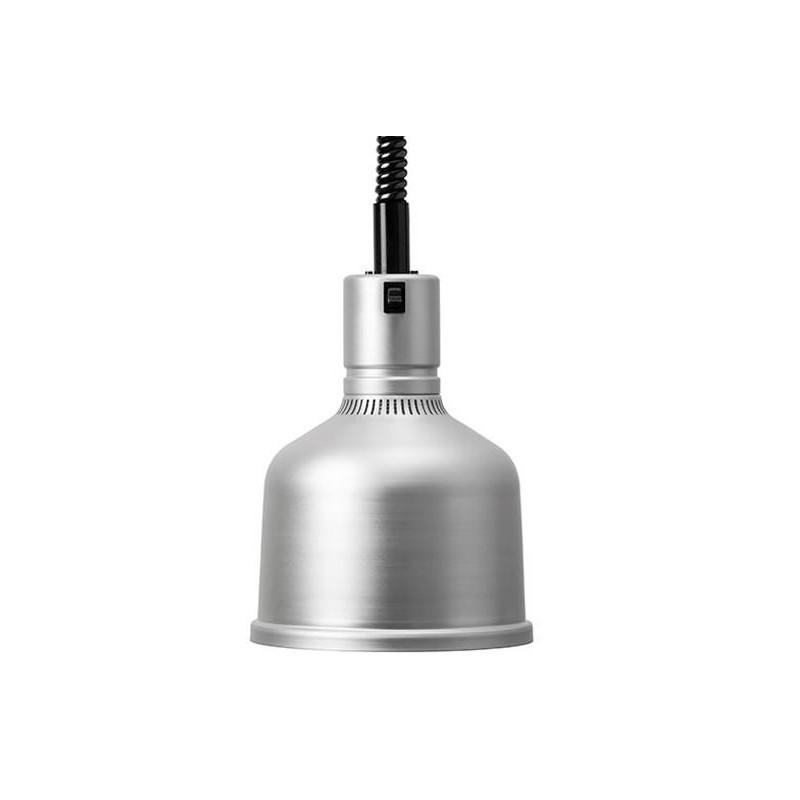 Lampes chauffantes à cordon réglable FOCUS MS couleur aluminium.