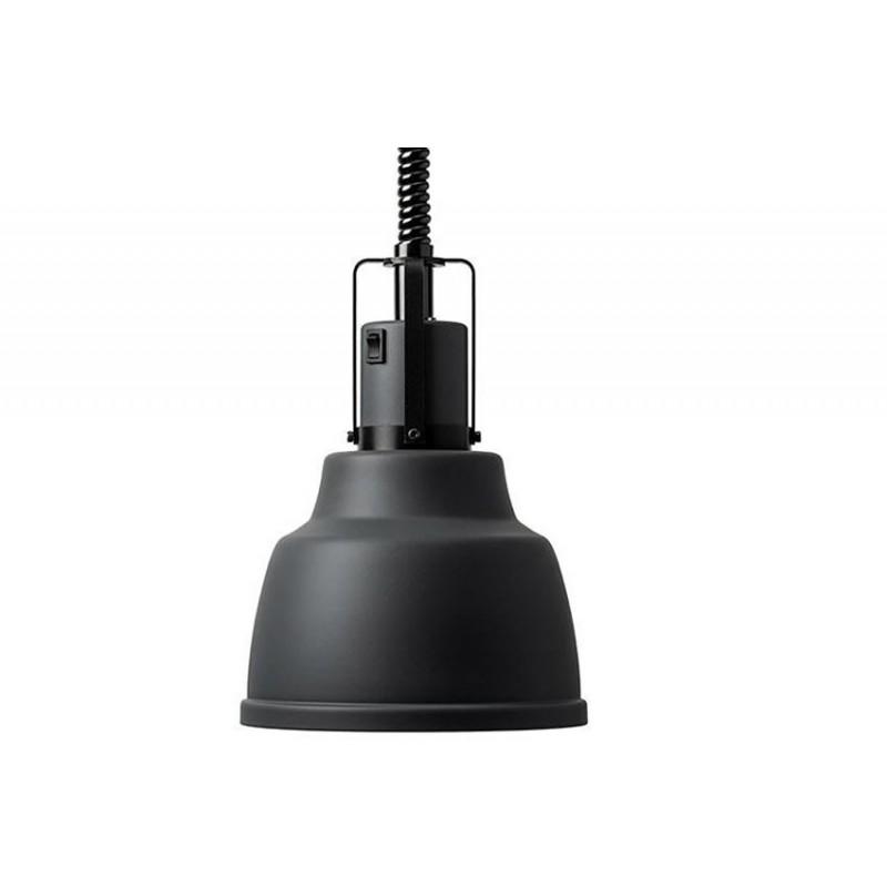 Lampes chauffantes à cordon réglable FOCUS IO couleur noir.