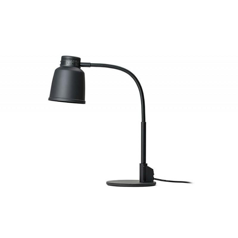 Lampe chauffante autonome détaché 250 W noir.