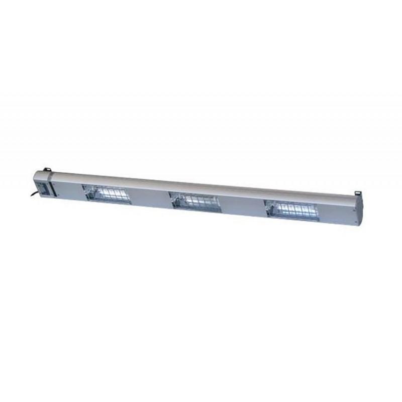 Lampe chauffante à quartz 1200 mm -3 lampes 1050 W.