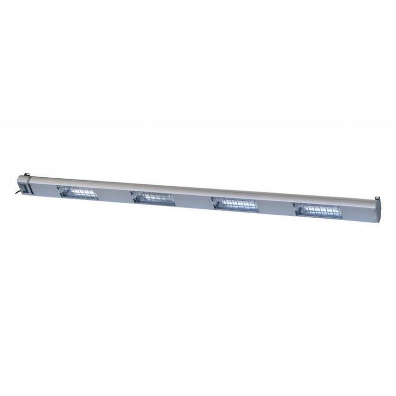 Lampe chauffante à quartz 1800 mm - 4 lampes 1400 W
