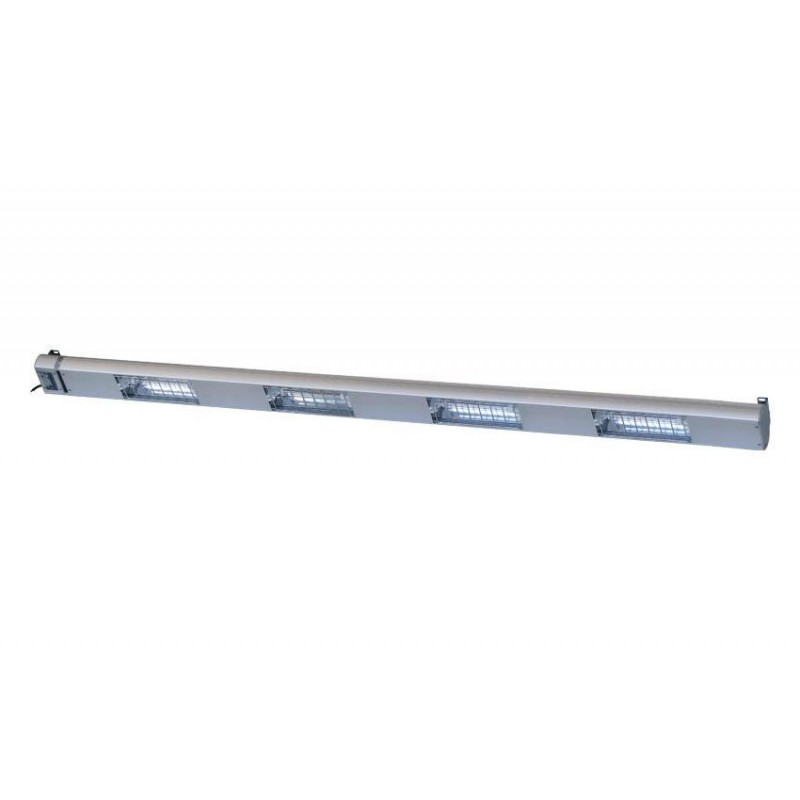 Lampe chauffante à quartz 2100 mm - 5 lampes 1750 W