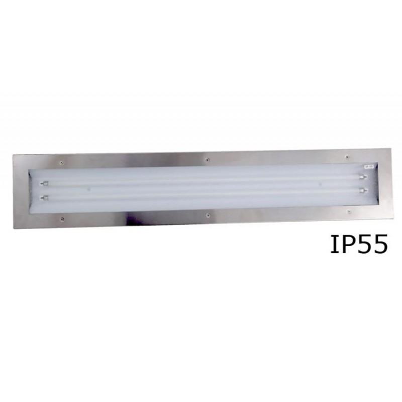 Eclairage encastré pour hotte 2x28 W