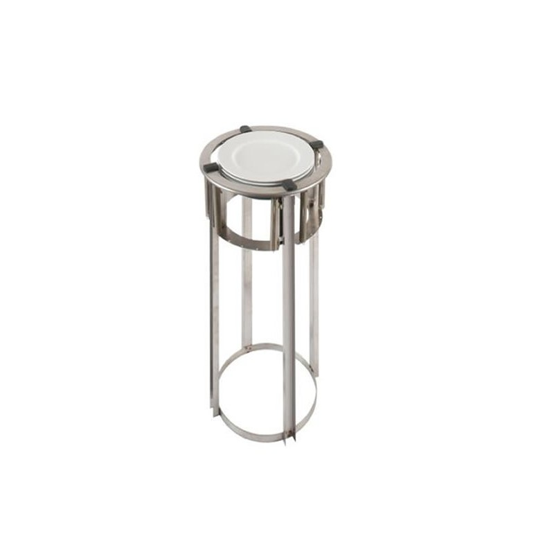 Elévateur à encastrer pour assiettes rondes de 160 - 208 mm.