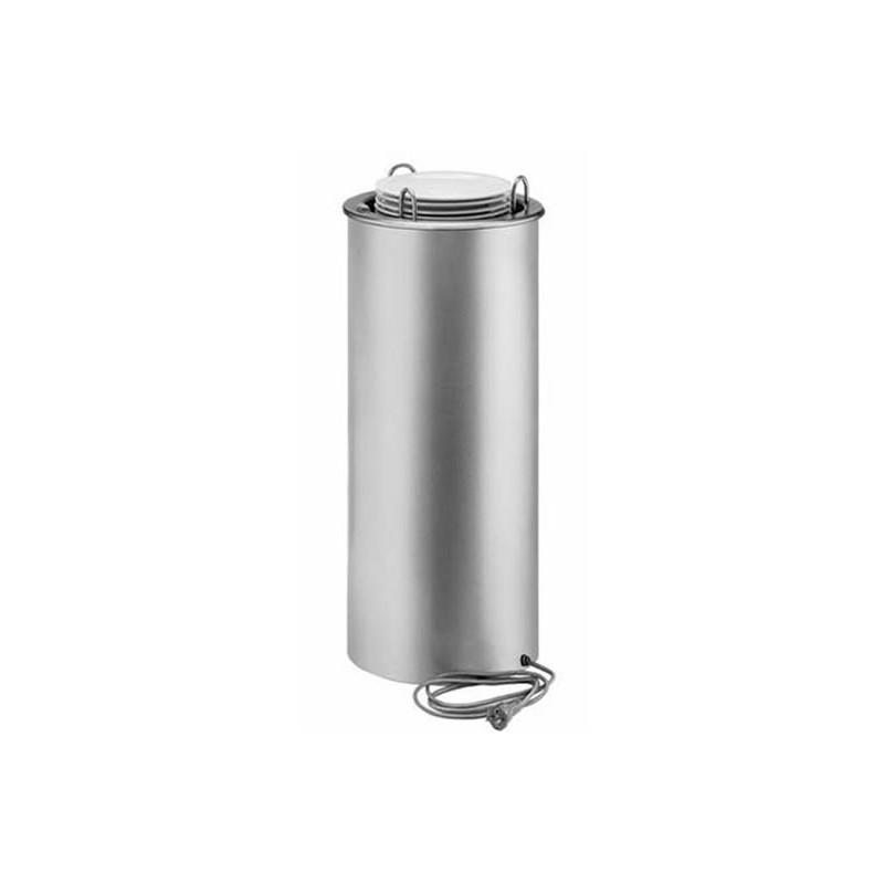 Elévateur chauffé pour assiettes ronde de diamètre 150 à 290 mm.