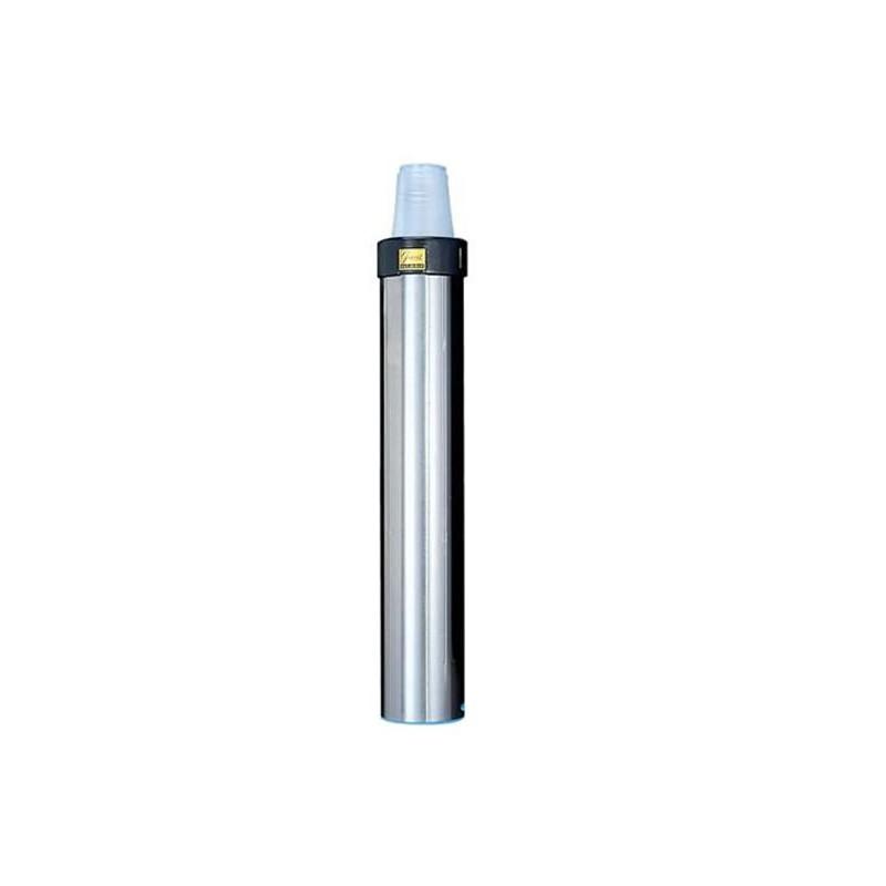Distributeur de gobelets 70 - 98 mm inox vertical ou oblique.