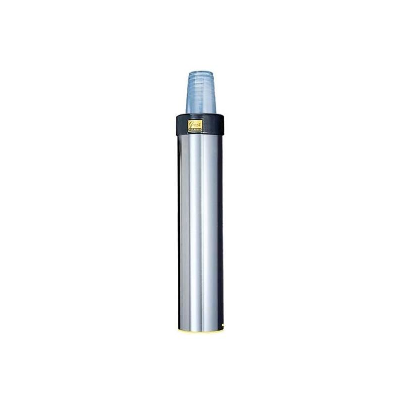 Distributeur de gobelets 101 - 123 mm inox vertical ou oblique.