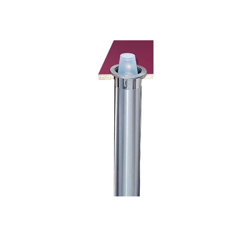 Distributeur de gobelet avec montage au choix à encastrer 56-81 mm