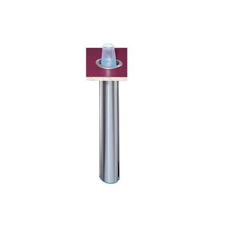 Distributeur de gobelet vertical ou oblique à encastrer 101-123 mm