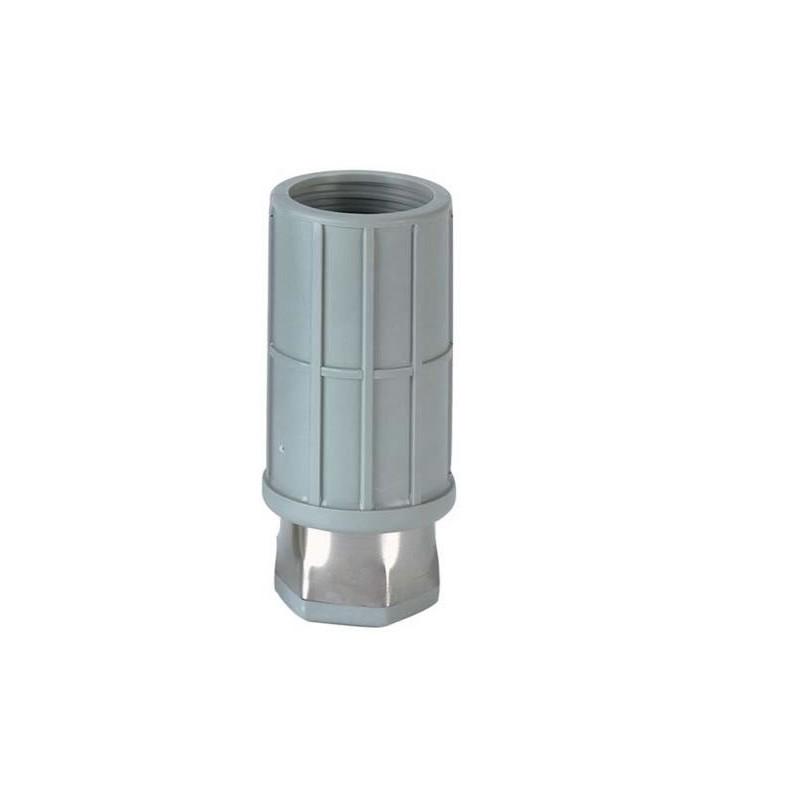Vérin synthétique pour tubes ronds de 50 mm.