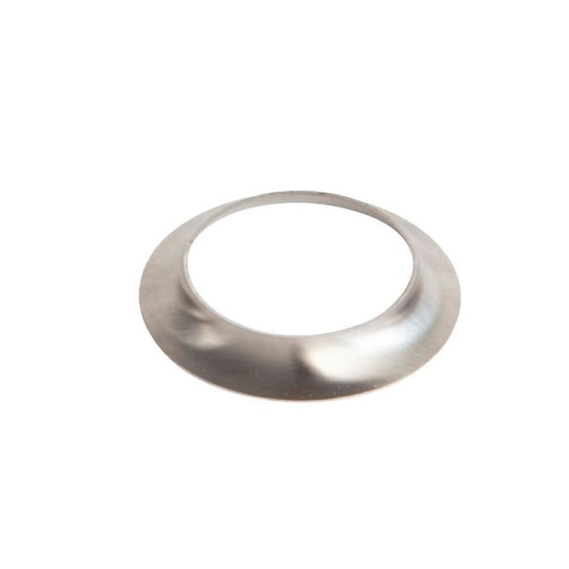 Collerette inox pour tube rond diamètre 38 mm
