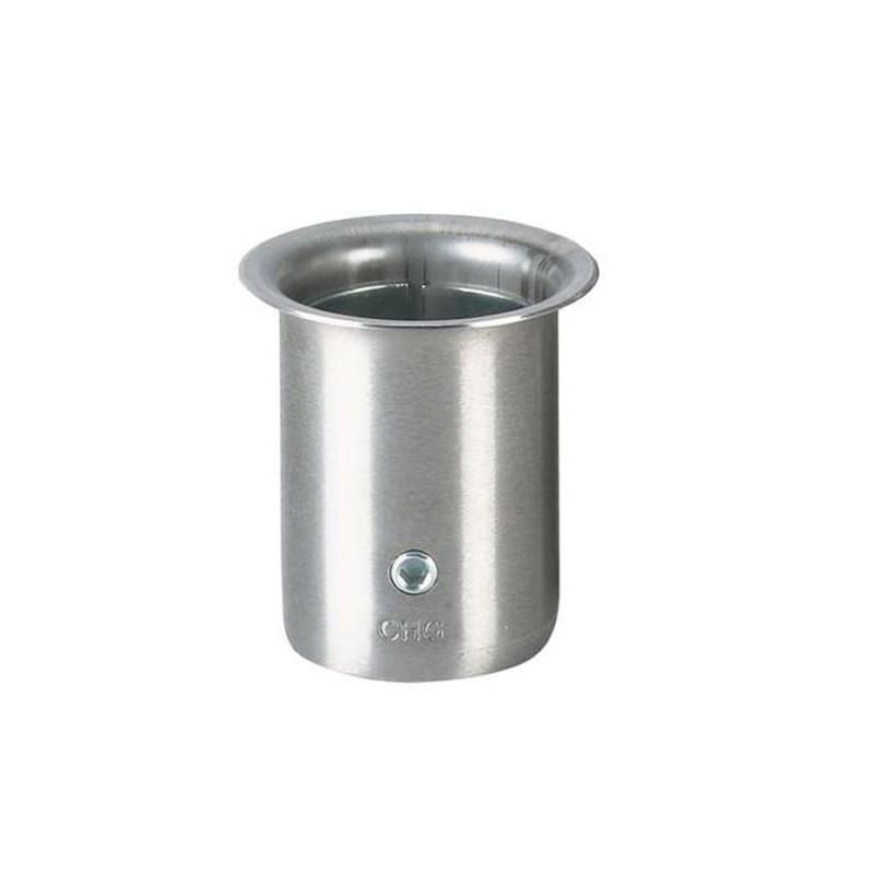 Socket pour tube rond diamètre 38 mm
