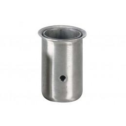 Socket pour tube rond diamètre 50 mm vendus par 50 pièces.