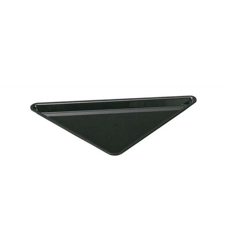 Plat petit triangle en plexi 270 mm pour vitrine