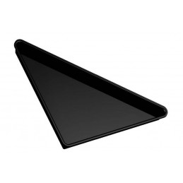 Plat grand triangle en plexi 565 mm pour vitrine