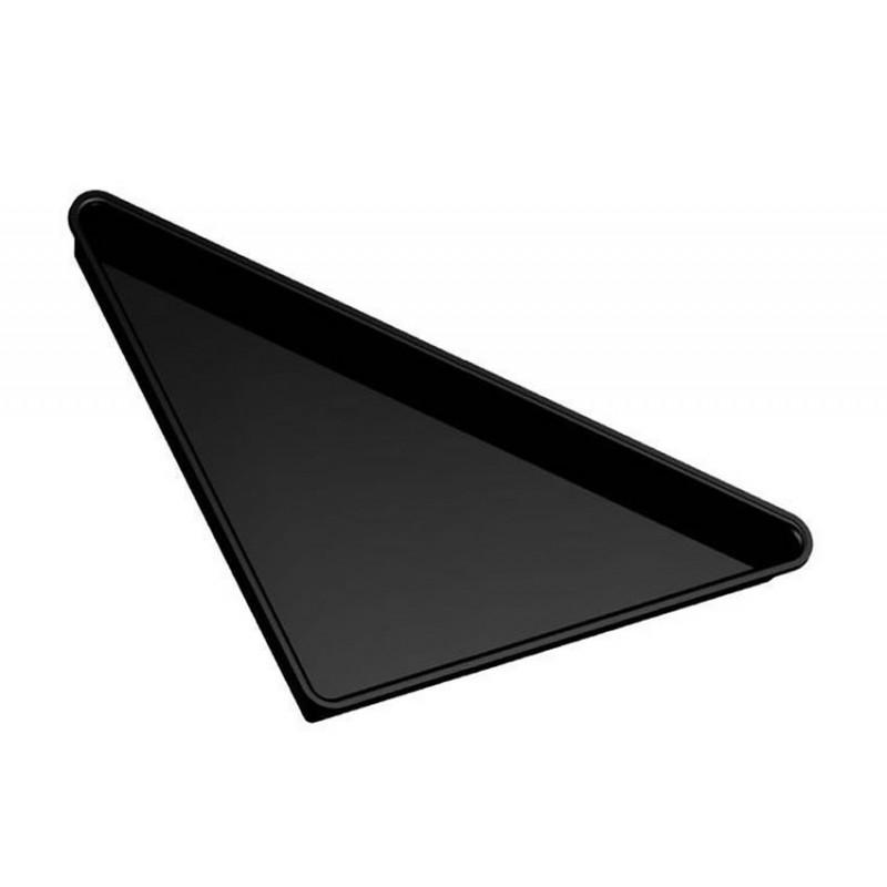 Plat grand triangle en plexi 565 mm pour vitrine