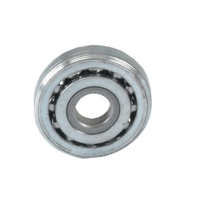 Roulement à billes avec trou diamètre 22 mm.